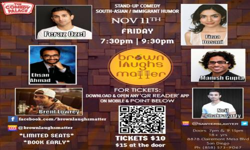 Brown Laughs Matter: South Asian Stand-Up Comedy