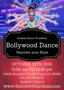 Free Bollywood Master Class By Andaaz Dance Academy