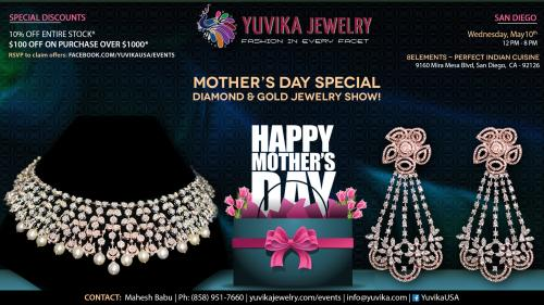 San Diego - Mother'S Day Special Diamond And Gold Jewelry Event
