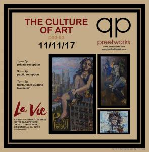 Art Exhibition _ Pop Up_11/11_preetworks